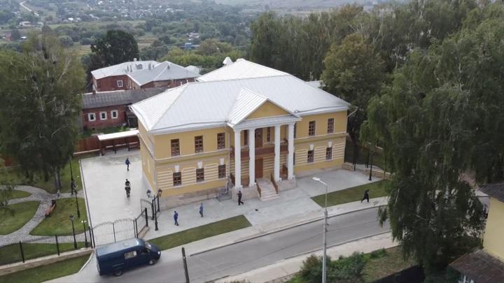 Впоселении Крапивна вТульской области появился новый музей— земства иградостроительной истории