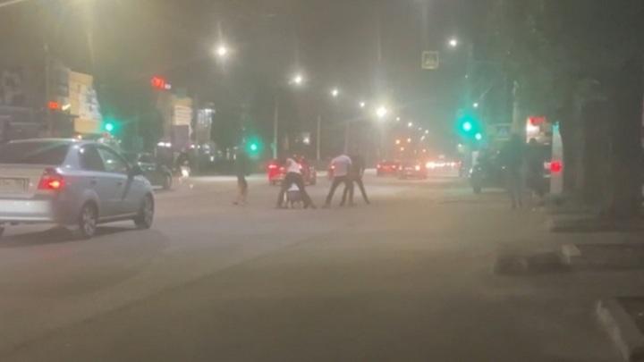 В Воронеже ночью произошла массовая драка со стрельбой