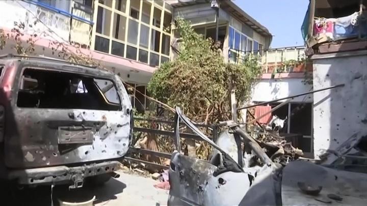 Пентагон назвал ошибкой атаку беспилотника США в Кабуле