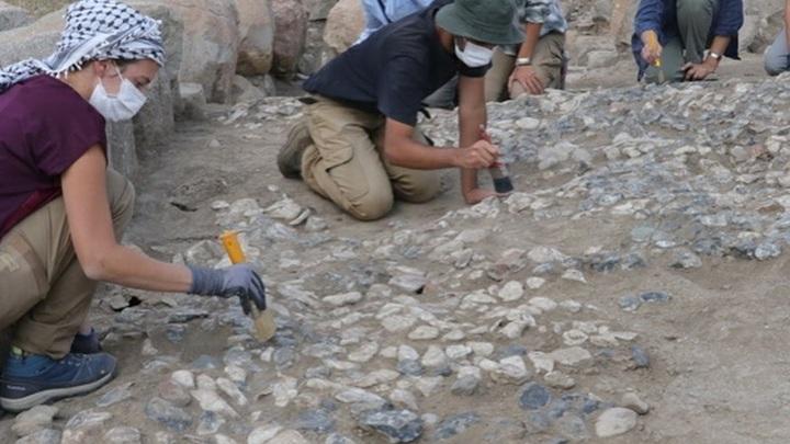 Мозаика возрастом 3,5 тысячи лет найдена на раскопках в Турции