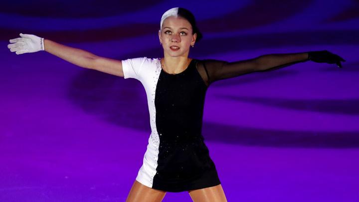 Фигуристка Трусова выиграла турнир в США