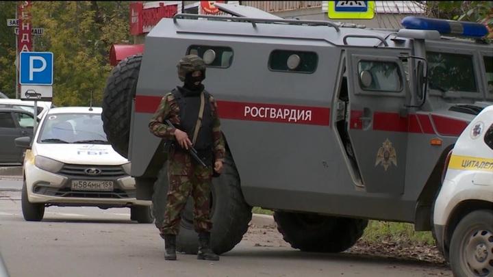 Появилось новое видео со стрельбой в Перми