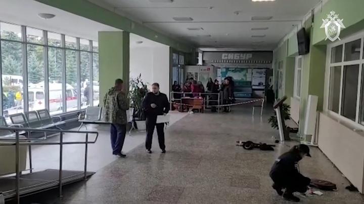 Студент, устроивший бойню в Перми, лишился ноги