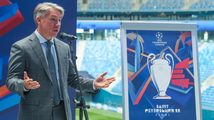 Логотип финала Лиги чемпионов представлен в Санкт-Петербурге