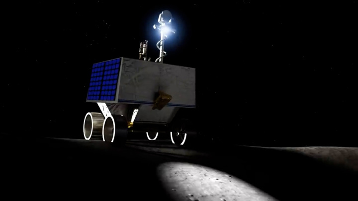 Темные уголки Луны: НАСА выбрало место для посадки ровера VIPER