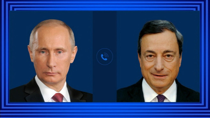 Путин провел телефонные переговоры с премьером Италии