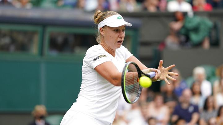 Остапенко не пустила Блинкову во второй круг турнира в Чехии