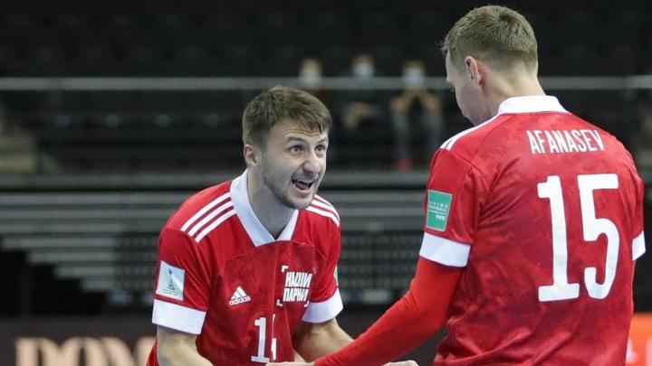 Мини-футбол. Сборная России вышла в четвертьфинал чемпионата мира