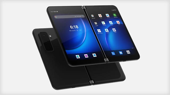 Microsoft представила двухэкранный смартфон и три компьютера