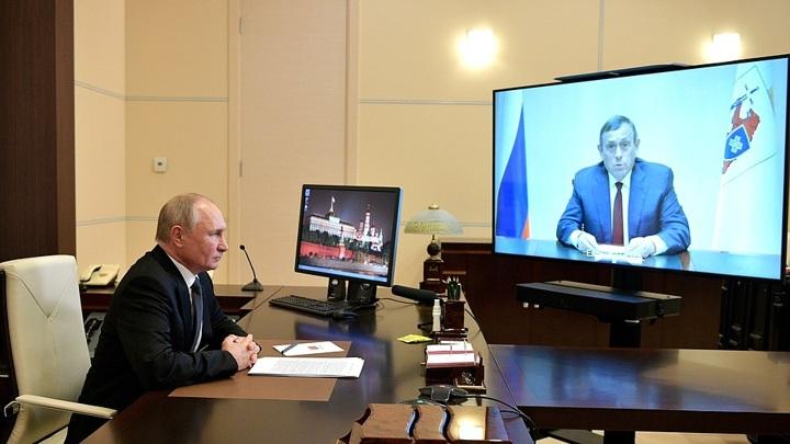 Видеоконференция с главой Марий Эл: Путин оценил результаты по всем направлениям