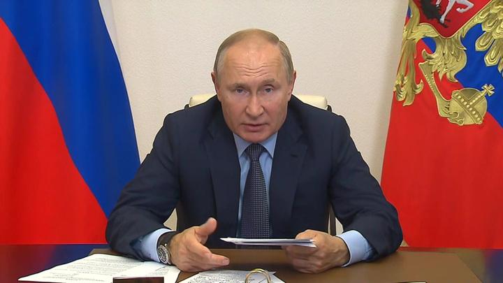 Путин встретился с руководством пяти партий, прошедших в Госдуму