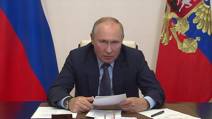 Путин: главы регионов напрямую отвечают перед людьми