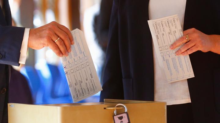ЦИК Германии обнародовал первые итоги выборов
