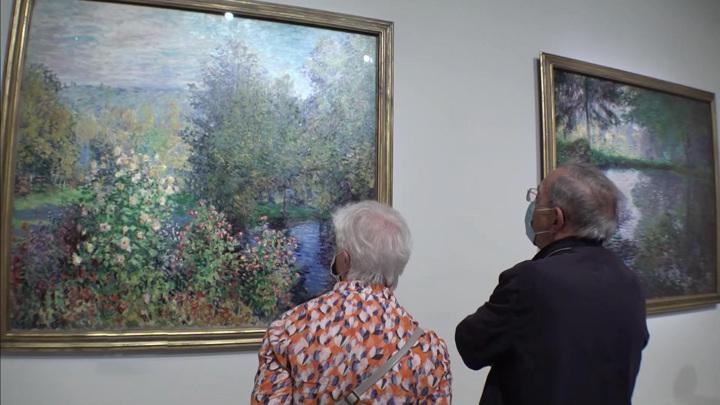 Восторг и наслаждение: в Париже открылась выставка живописи из собрания русских музеев