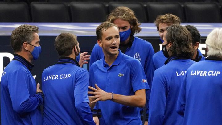 Медведев и Рублев помогли сборной Европы завоевать Кубок Лэйвера