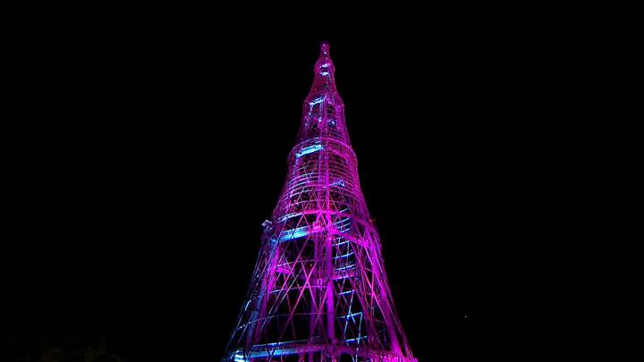 Наряды всех цветов: Шуховская башня готовится к столетию. Эксклюзив