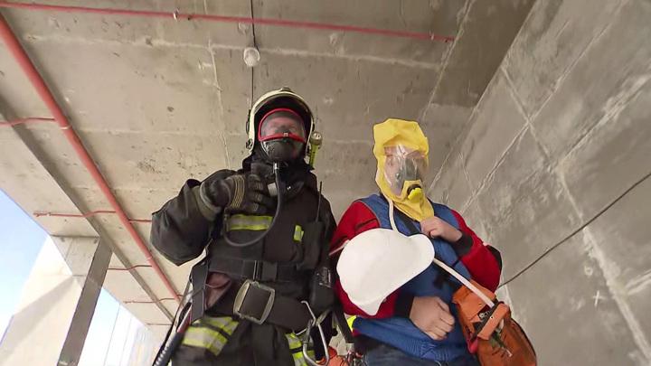 Спасатели ЕАО справились с задачами плановой тренировки в концертном зале