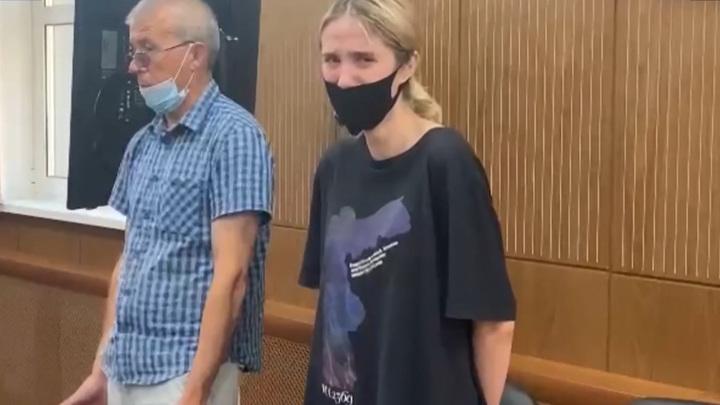 Мосгорсуд оставил Валерию Башкирову, сбившую трех детей, под стражей