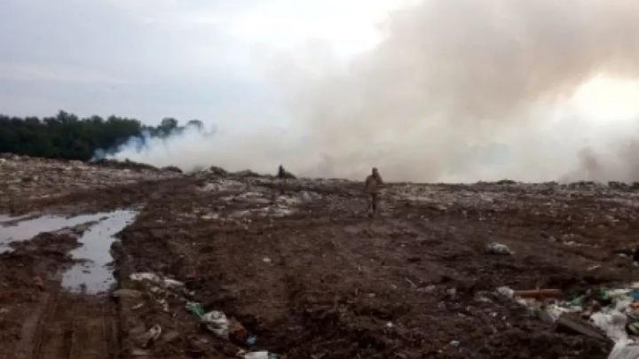 Найдены виновники возгорания на мусорном полигоне Чувашии