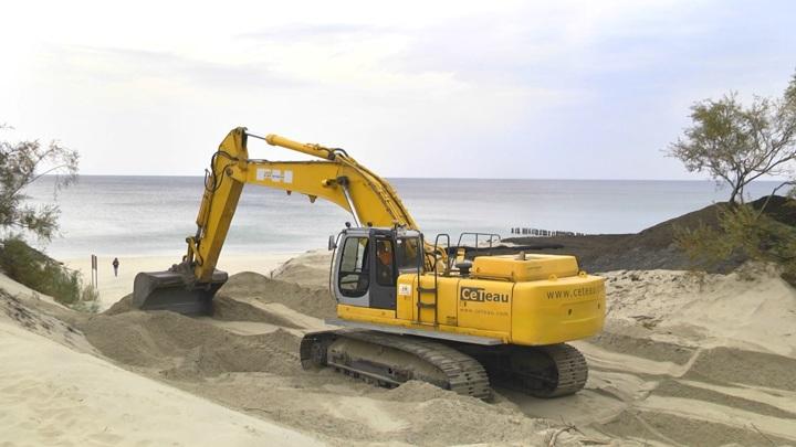 Прокуратура начала проверку по факту разрушения дюн в Калининградской области