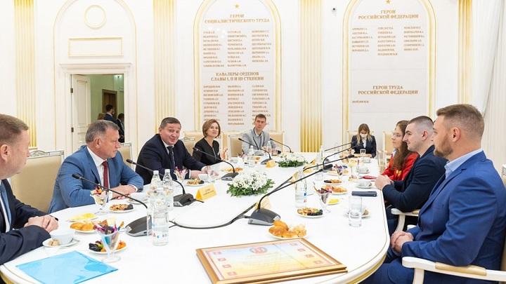 В Волгограде прошло чествование паралимпийцев