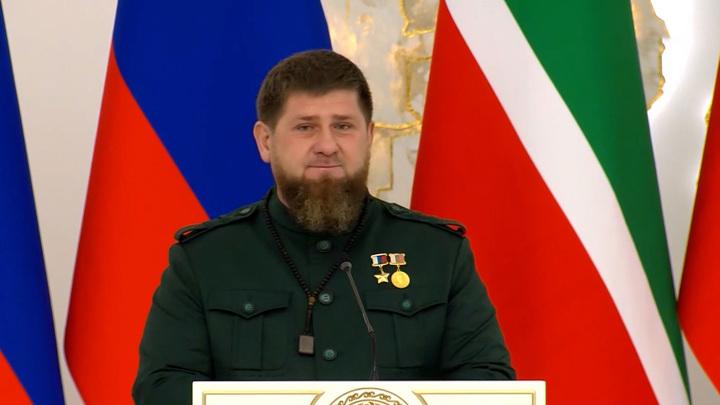 Во время инаугурации Рамзан Кадыров вспомнил своего отца