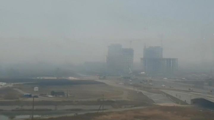 Часть Екатеринбургской кольцевой дороги перекрыли из-за смога