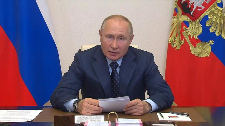 Путин: русский язык объединяет страны СНГ