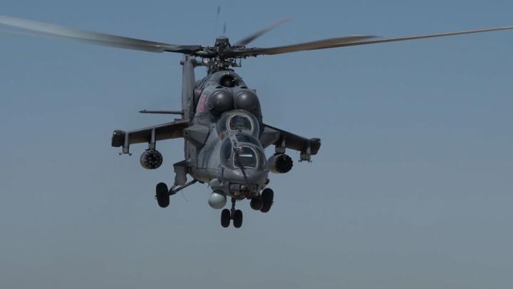 Армейская авиация уничтожила условного противника в Крыму