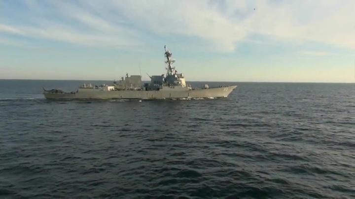 Американскому атташе указали на непрофессионализм военных моряков