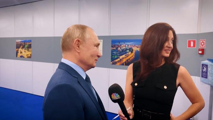 Гэмбл во время интервью с Путиным не дослушивала перевод