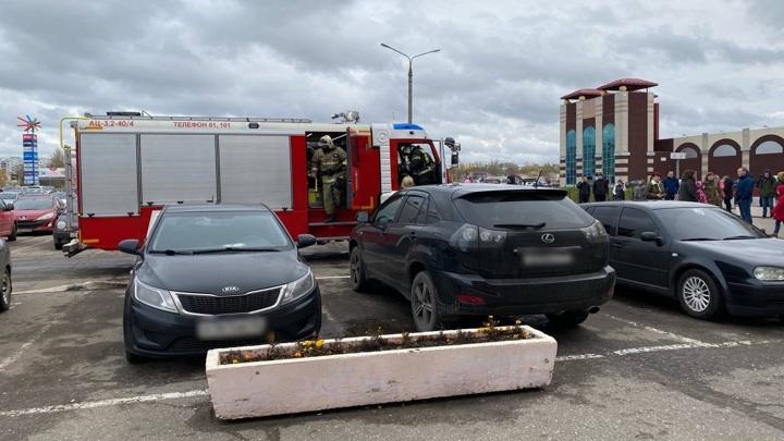 В Ярославле провели эвакуацию торгового центра