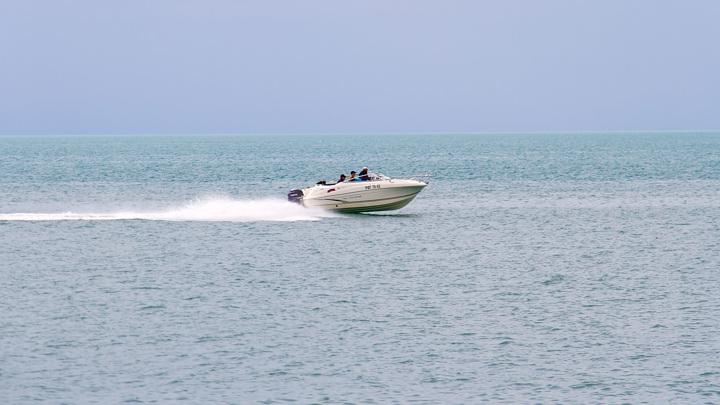 В Черном море катер убил подводного охотника