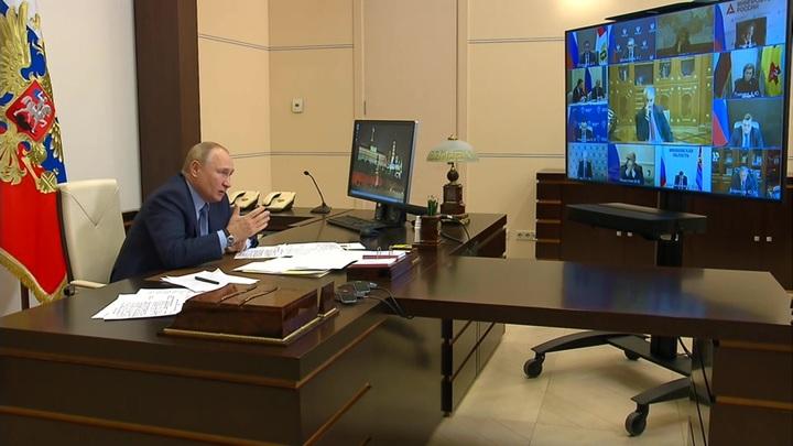 Путин опроверг заинтересованность России в росте цен на газ