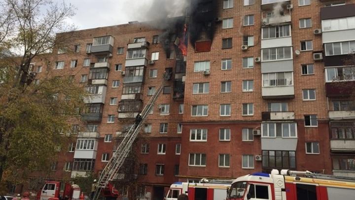 Пожар в Самаре локализован, погиб один человек