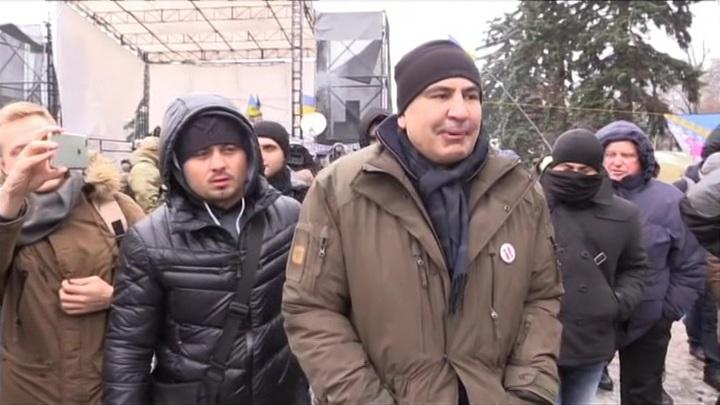 Отца Саакашвили госпитализировали