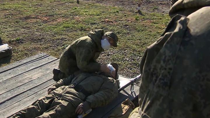 Военные врачи вносят свой вклад в борьбу с коронавирусом