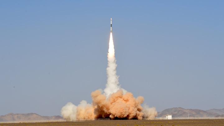 Китай запустил спутник для борьбы с космическим мусором