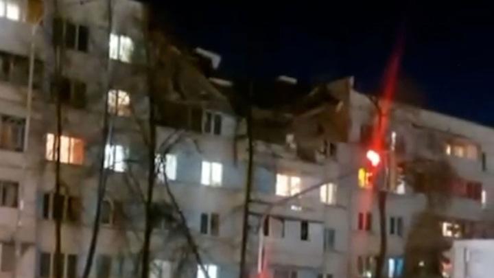 Взрыв произошел в жилом доме в Набережных Челнах