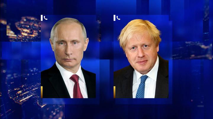Путин обсудил с Джонсоном Афганистан и двусторонние отношения
