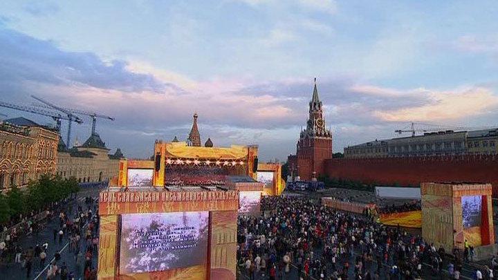 День славянской письменности и культуры. Прямая трансляция с Красной площади