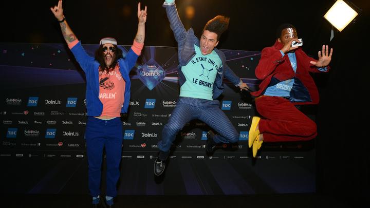 """Французы на """"Евровидении"""": сами с усами"""