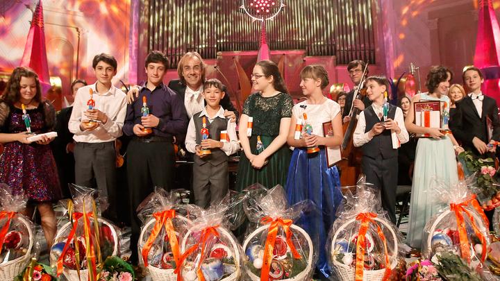 Щелкунчик. XV Международный телевизионный конкурс юных музыкантов. Финал и Торжественное закрытие