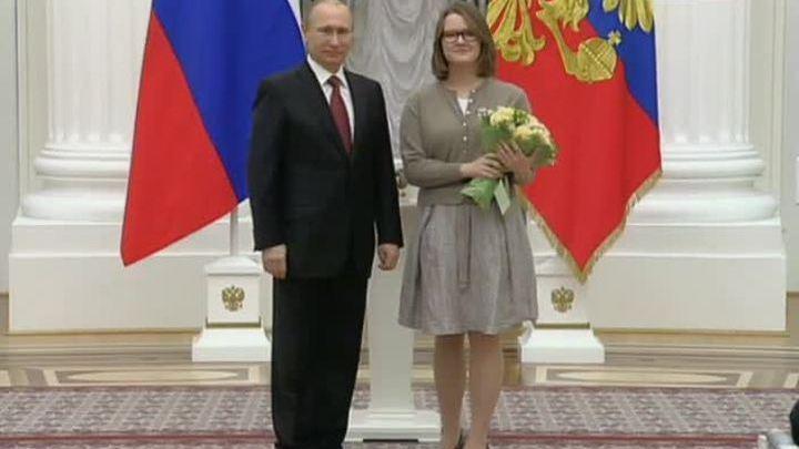 Награды из рук президента России в День работника культуры