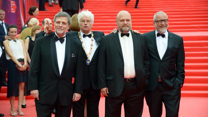 Торжественное закрытие 37-го Московского международного кинофестиваля. Жюри кинофестиваля