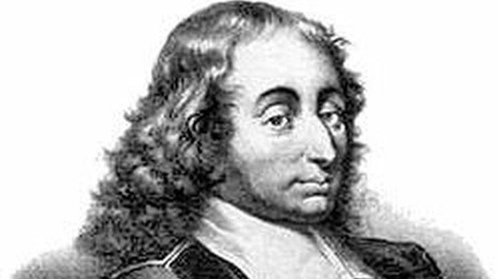Блез Паскаль,  французский математик, механик, физик, литератор и философ. Классик французской литературы, один из основателей математического анализа, теории вероятностей и проективной геометрии, создатель первых образцов счётной техники, автор основного закона гидростатики