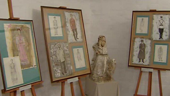 Открылась выставка работ сценографа Валерия Левенталя