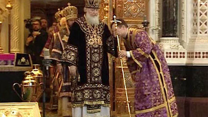 Патриарх Кирилл освятил в Орле храм Казанской иконы Божией Матери