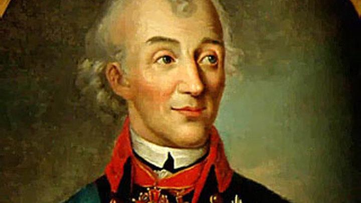 290 лет назад родился русский полководец Александр Суворов